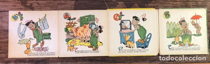 Libros de segunda mano: COLECCION NIÑOS CAPRICHOSOS, EL NEGRITO QUE QUERIA SER BLANCO, NUMERO 1, (MOLINO) - Foto 3 - 206327577
