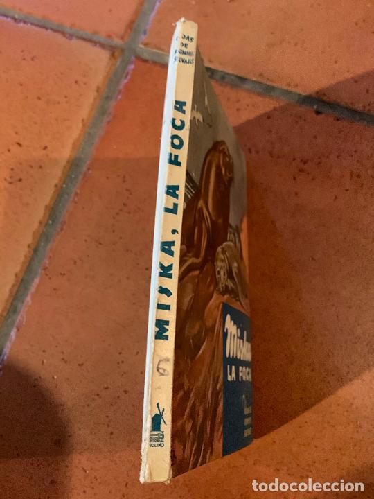 Libros de segunda mano: MISKA LA FOCA. Antiguo cuento VIDAS DE ANIMALES SALVAJES. Editorial Molino - Foto 3 - 206389162