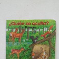 Libros de segunda mano: ¿QUIEN SE OCULTA? EL BOSQUE. EDICIONES SUSAETA. TDK181. Lote 206470180