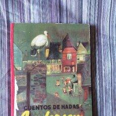 Libros de segunda mano: CUENTOS DE ANDERSEN 3ª SERIE ED. MOLINO 1958 DIBUJOS FREIXAS VERSIÓN ALFONSO NADAL. Lote 206949003