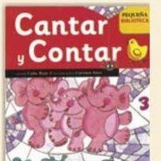 Libros de segunda mano: CONTAR Y CANTAR. Lote 207287410