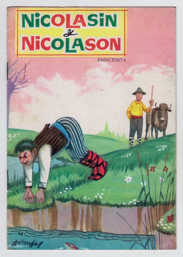 PRINCESITA - NÚMERO 14: NICOLASÍN Y NICOLASÓN - AÑO 1962 - BUEN ESTADO (Libros de Segunda Mano - Literatura Infantil y Juvenil - Cuentos)