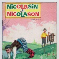 Libros de segunda mano: PRINCESITA - NÚMERO 14: NICOLASÍN Y NICOLASÓN - AÑO 1962 - BUEN ESTADO. Lote 207881072