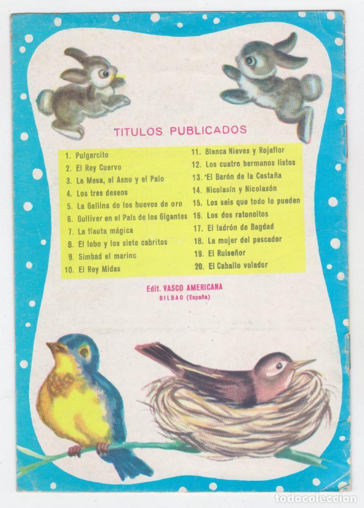 Libros de segunda mano: PRINCESITA - NÚMERO 17: EL LADRÓN DE BAGDAD - AÑO 1962 - BUEN ESTADO - Foto 2 - 207882906
