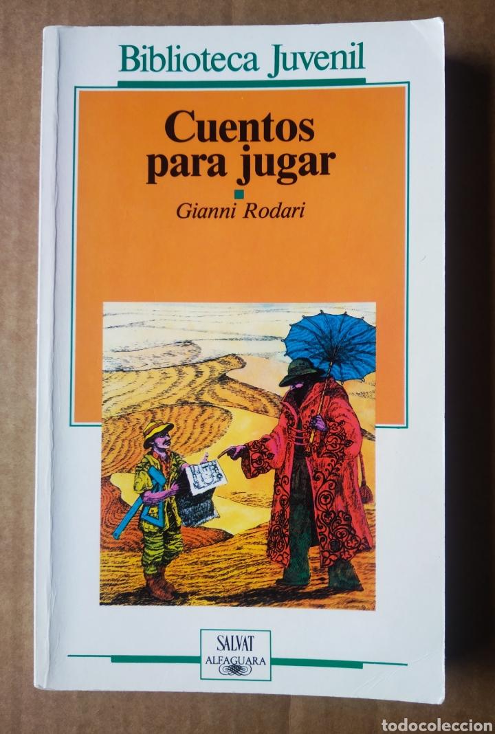 CUENTOS PARA JUGAR, POR GIANNI RODARI (BIBLIOTECA JUVENIL SALVAT/ALFAGUARA, 1987). GIANNI PEG. (Libros de Segunda Mano - Literatura Infantil y Juvenil - Cuentos)
