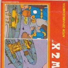 """Libros de segunda mano: """"WZX"""" MAILA 1 DE AITOR ZENARRUZABEITIA EN EUSKERA. Lote 208028231"""