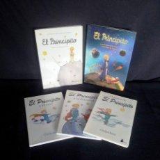 Libros de segunda mano: EL PRINCIPITO - LOTE DE 5 LIBROS - LEER DESCRIPCION, ANTOINE DE SAINT Y CHARLES MORRIS. Lote 208061382
