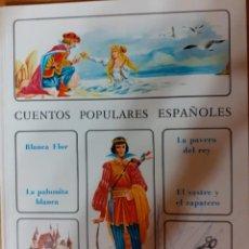 Libros de segunda mano: LIBRO CUENTOS POPULARES ESPAÑOLES-1971-ED TIMUN MAS. Lote 208144688