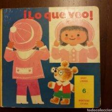 Libros de segunda mano: LO QUE VEO. BABY LIBROS. Lote 208388715