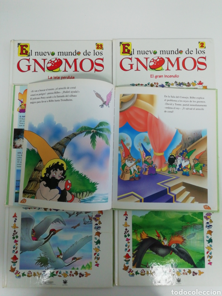 Libros de segunda mano: El nuevo mundo de los GNOMOS - Foto 3 - 208419457