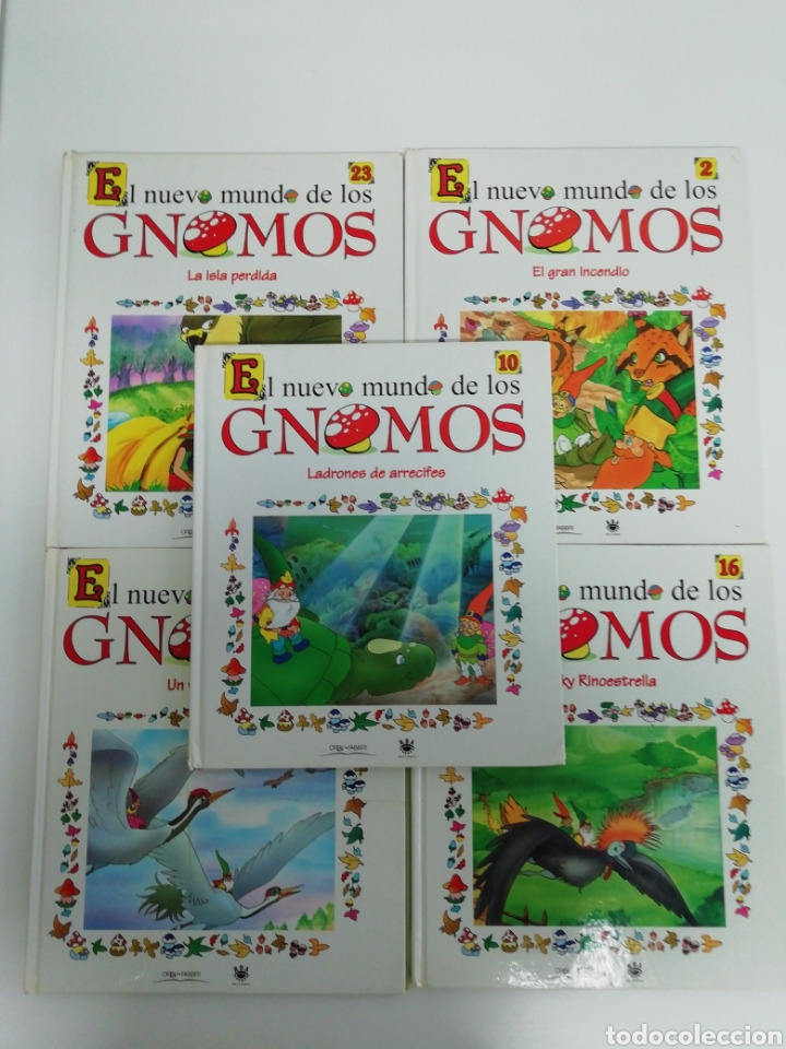 EL NUEVO MUNDO DE LOS GNOMOS (Libros de Segunda Mano - Literatura Infantil y Juvenil - Cuentos)