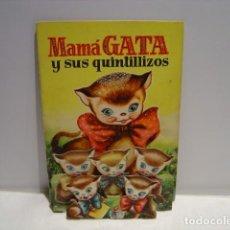 Libros de segunda mano: MAMÁ GATA Y SUS QUINTILLIZOS - SABATÉS - BRUGUERA COLECCIÓN CINCO Y UNO - REGALO FIFI Y SUS PERRITOS. Lote 208793745