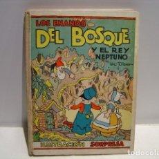 Libros de segunda mano: LOS ENANOS DEL BOSQUE Y EL REY NEPTUNO - WALT DISNEY - ILUSTRACIÓN SORPRESA MOLINO. Lote 208795178