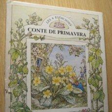 Libros de segunda mano: CONTE DE PRIMAVERA . LES 4 ESTACIONS. JIL BARKLEM 2 ED 1982 . CATALÀ. Lote 208995625
