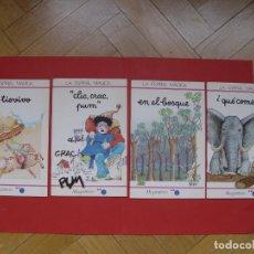 Libros de segunda mano: LOTE 4 CUENTOS LA ESPIRAL MÁGICA (MAGISTERIO - 1988) ORIGINALES ¡COLECCIONISTA!. Lote 209113355
