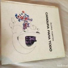 Libros de segunda mano: GLORIA FUERTES FIRMADO CANGURA PARA TODO. Lote 209199725