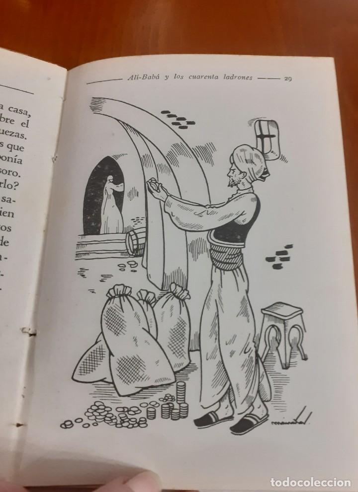 Libros de segunda mano: Ali-baba y los 40 ladrones de Editorial Hernando 1951 - Foto 3 - 209201640