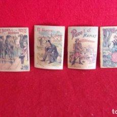 Libros de segunda mano: 4 CUENTOS CALLEJAS 1901,ESTAN NUEVOS. Lote 209963541