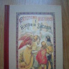 Libros de segunda mano: LIBRO CATECISMO HISTÓRICO CALLEJA MADRID BIBLIOTECA DEL RECUERDO 2004 EDICIONES SANTILLANA EDAF. Lote 210404310