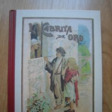 Libros de segunda mano: LIBRO LA CABRITA DE ORO CALLEJA MADRID BIBLIOTECA DEL RECUERDO 2004 EDICIONES SANTILLANA EDAF. Lote 210404655