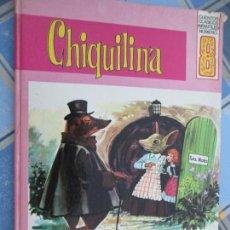 Libros de segunda mano: CHIQUILINA - HANS ANDERSEN - EUREDIT -CUENTOS CLÁSICOS INFANTILES Nº 8. 1969. Lote 210406297