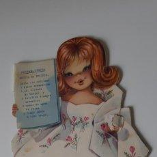 Libros de segunda mano: NORA LOCUTORA DE LA T.V. - FERRÁNDIZ 1962 - CUENTO TROQUELADO. Lote 210406673