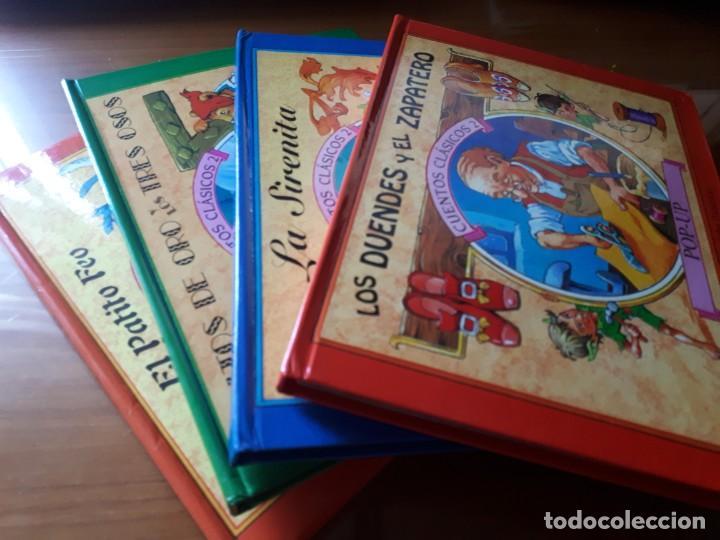 4 CUENTOS POP-UP - COLECCIÓN CUENTOS CLÁSICOS 2 - JOHN PATIENCE- EDICIONES SALDAÑA, S.A., 2002 - COM (Libros de Segunda Mano - Literatura Infantil y Juvenil - Cuentos)