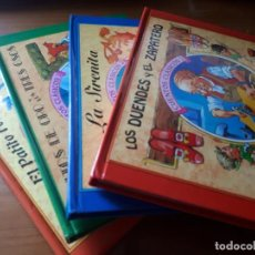 Libros de segunda mano: 4 CUENTOS POP-UP - COLECCIÓN CUENTOS CLÁSICOS 2 - JOHN PATIENCE- EDICIONES SALDAÑA, S.A., 2002 - COM. Lote 210641882