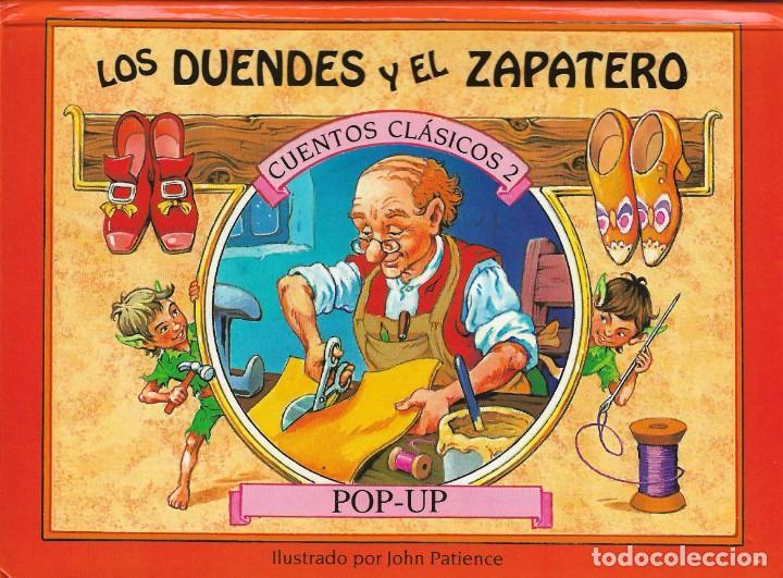 Libros de segunda mano: 4 CUENTOS POP-UP - COLECCIÓN CUENTOS CLÁSICOS 2 - JOHN PATIENCE- EDICIONES SALDAÑA, S.A., 2002 - COM - Foto 2 - 210641882