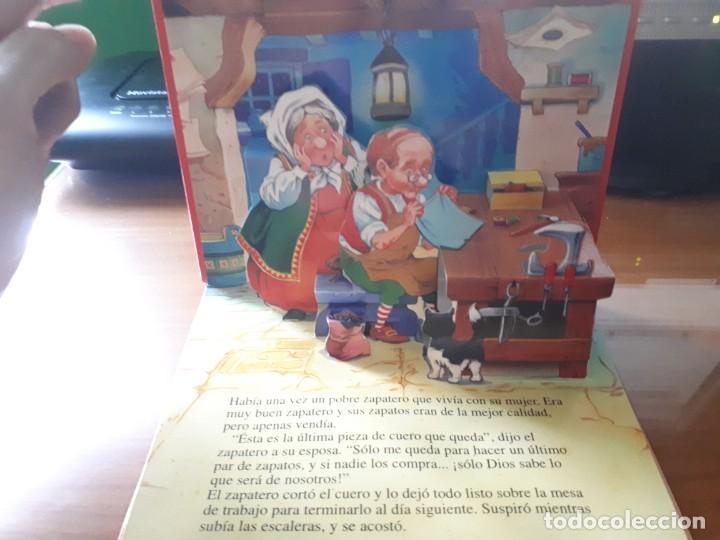 Libros de segunda mano: 4 CUENTOS POP-UP - COLECCIÓN CUENTOS CLÁSICOS 2 - JOHN PATIENCE- EDICIONES SALDAÑA, S.A., 2002 - COM - Foto 3 - 210641882