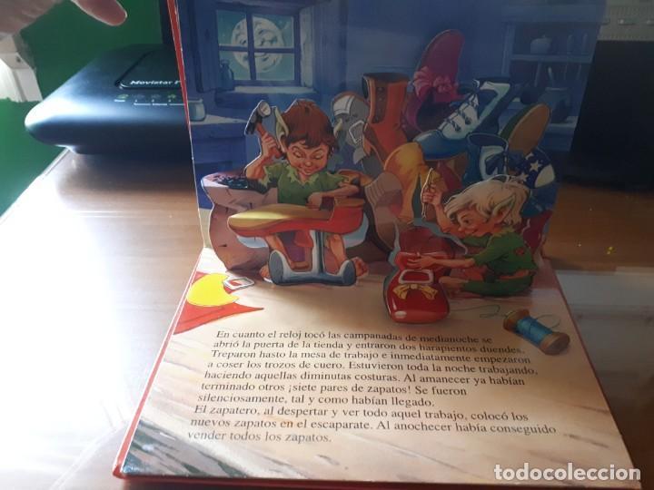 Libros de segunda mano: 4 CUENTOS POP-UP - COLECCIÓN CUENTOS CLÁSICOS 2 - JOHN PATIENCE- EDICIONES SALDAÑA, S.A., 2002 - COM - Foto 5 - 210641882