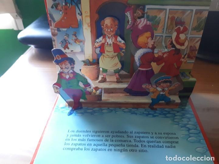 Libros de segunda mano: 4 CUENTOS POP-UP - COLECCIÓN CUENTOS CLÁSICOS 2 - JOHN PATIENCE- EDICIONES SALDAÑA, S.A., 2002 - COM - Foto 7 - 210641882