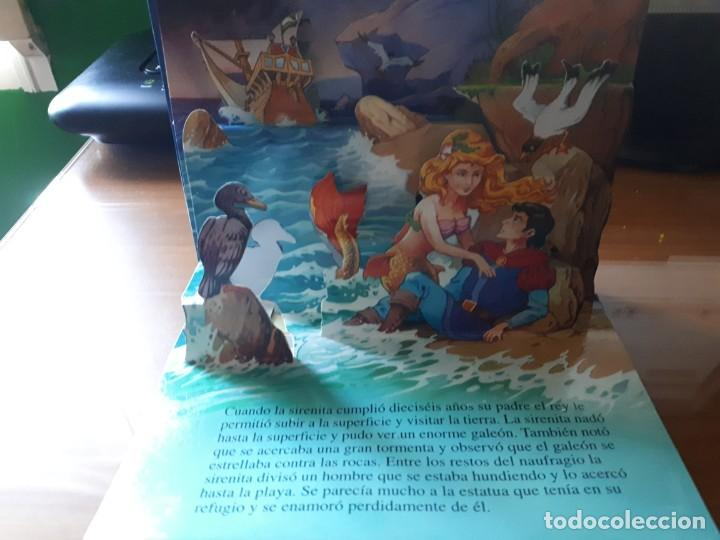 Libros de segunda mano: 4 CUENTOS POP-UP - COLECCIÓN CUENTOS CLÁSICOS 2 - JOHN PATIENCE- EDICIONES SALDAÑA, S.A., 2002 - COM - Foto 10 - 210641882