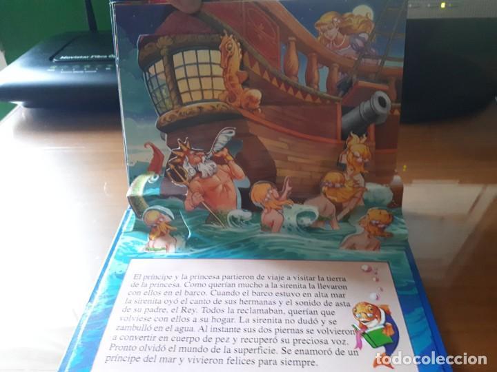 Libros de segunda mano: 4 CUENTOS POP-UP - COLECCIÓN CUENTOS CLÁSICOS 2 - JOHN PATIENCE- EDICIONES SALDAÑA, S.A., 2002 - COM - Foto 13 - 210641882