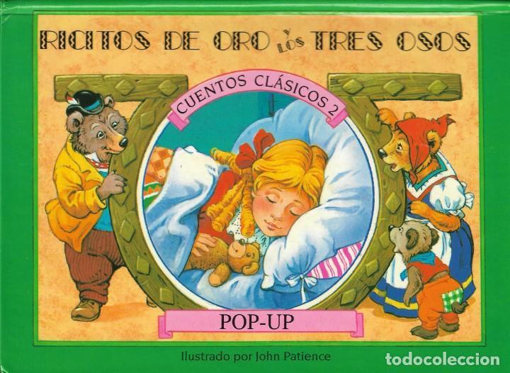 Libros de segunda mano: 4 CUENTOS POP-UP - COLECCIÓN CUENTOS CLÁSICOS 2 - JOHN PATIENCE- EDICIONES SALDAÑA, S.A., 2002 - COM - Foto 14 - 210641882