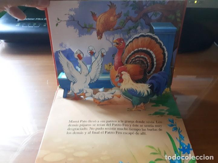 Libros de segunda mano: 4 CUENTOS POP-UP - COLECCIÓN CUENTOS CLÁSICOS 2 - JOHN PATIENCE- EDICIONES SALDAÑA, S.A., 2002 - COM - Foto 22 - 210641882