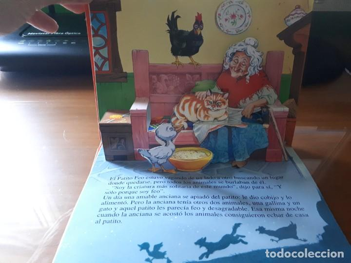 Libros de segunda mano: 4 CUENTOS POP-UP - COLECCIÓN CUENTOS CLÁSICOS 2 - JOHN PATIENCE- EDICIONES SALDAÑA, S.A., 2002 - COM - Foto 23 - 210641882