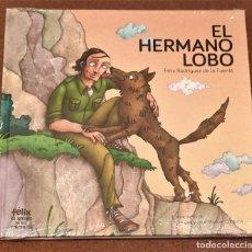 Livros em segunda mão: EL HERMANO LOBO. FÉLIX RODRÍGUEZ DE LA FUENTE.. Lote 210762157
