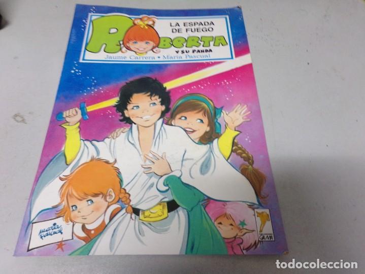 ROBERTA Y SU PANDA Nº 6 LA ESPADA DE FUEGO - MARIA PASCUAL (Libros de Segunda Mano - Literatura Infantil y Juvenil - Cuentos)