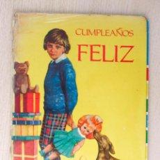 Libros de segunda mano: CUMPLEAÑOS FELIZ. (ED. LITO - DE LOS LLANOS, MARÍA (TEXTO) / TABARY, PIERRE (ILUSTR.). Lote 211828846