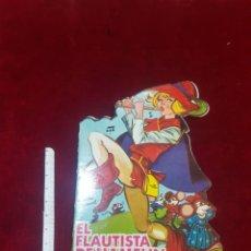 Libri di seconda mano: EL FLAUTISTA DE HAMELÍN CUENTO TROQUELADO EDICIONES TORAY 1966 NÚMERO 19. Lote 212675661