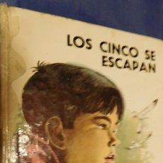 Libros de segunda mano: LOS CINCO SE ESCAPAN. Lote 212733791