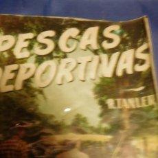 Libros de segunda mano: PESCAS DEPORTIVAS. LANZADO LIGERO (SPINNING). EL LUCIO, LA PERCA, LA TRUCHA, EL SALMÓN Y OTROS PECES. Lote 212812767