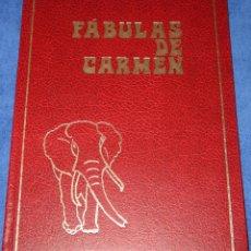 Libros de segunda mano: FÁBULAS DE CARMEN - MARÍA DEL CARMEN SÁENZ DE VALLUERCA (1974). Lote 212909022