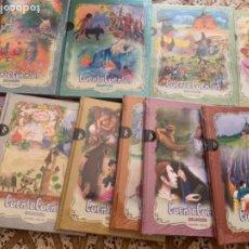 Libros de segunda mano: 12 LIBROS CUENTA CUENTOS BILINGÜES. Lote 212992275
