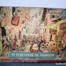 Libros de segunda mano: EL FLAUTISTA DE HAMELIN. ADAPTACION DE J. MORERA VIELLA. 2ª APRTE. BIBLIOTECA DIORAMICA. AÑO 1951.. Lote 213139943