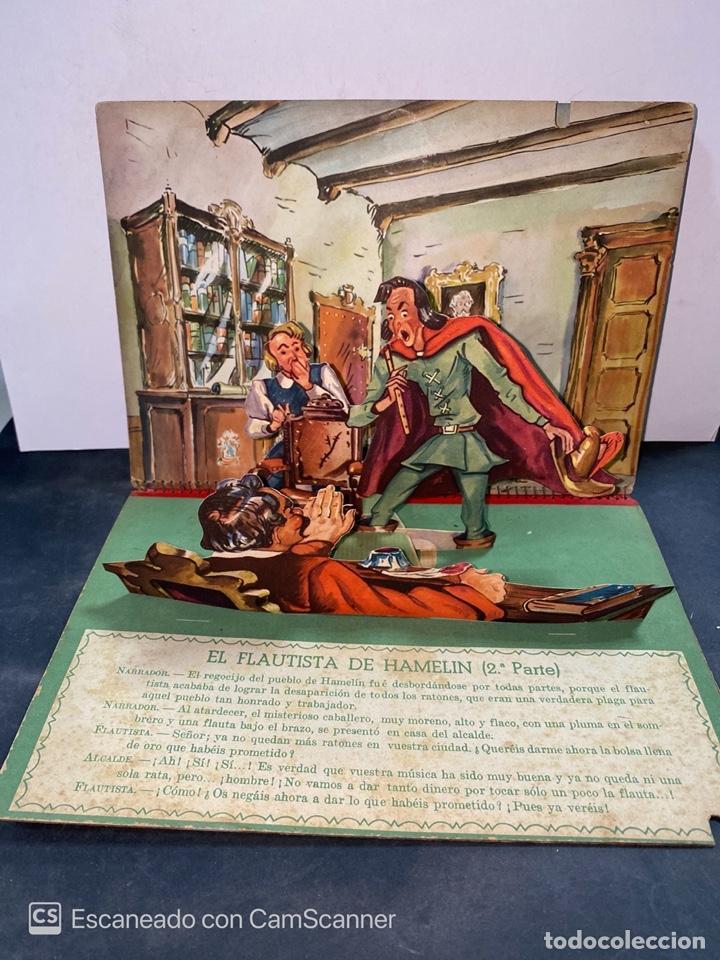 Libros de segunda mano: EL FLAUTISTA DE HAMELIN. ADAPTACION DE J. MORERA VIELLA. 2ª APRTE. BIBLIOTECA DIORAMICA. AÑO 1951. - Foto 2 - 213139943
