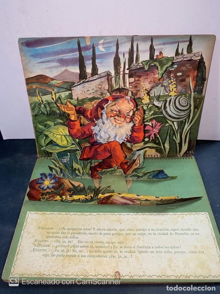 Libros de segunda mano: EL FLAUTISTA DE HAMELIN. ADAPTACION DE J. MORERA VIELLA. 2ª APRTE. BIBLIOTECA DIORAMICA. AÑO 1951. - Foto 6 - 213139943