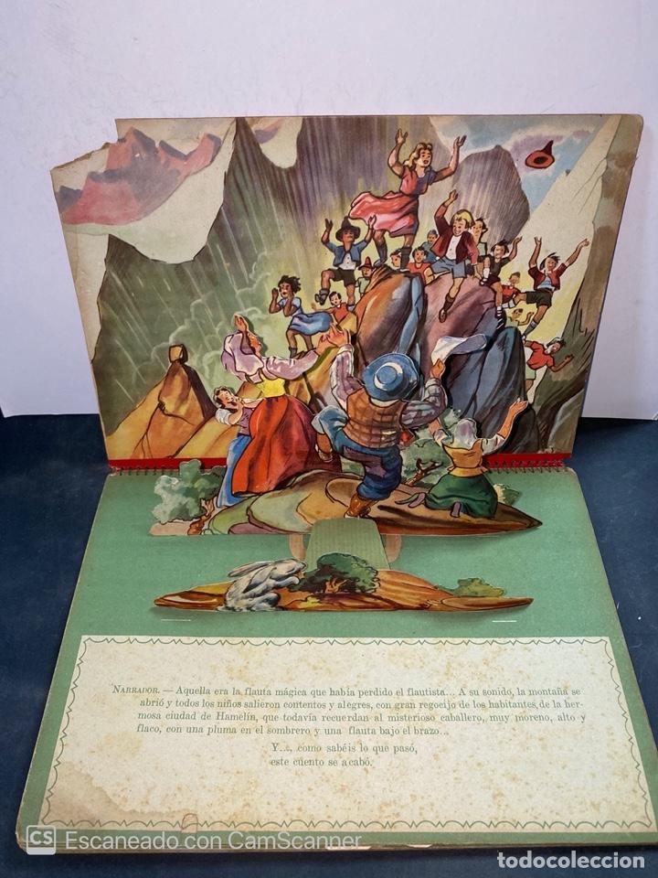 Libros de segunda mano: EL FLAUTISTA DE HAMELIN. ADAPTACION DE J. MORERA VIELLA. 2ª APRTE. BIBLIOTECA DIORAMICA. AÑO 1951. - Foto 7 - 213139943