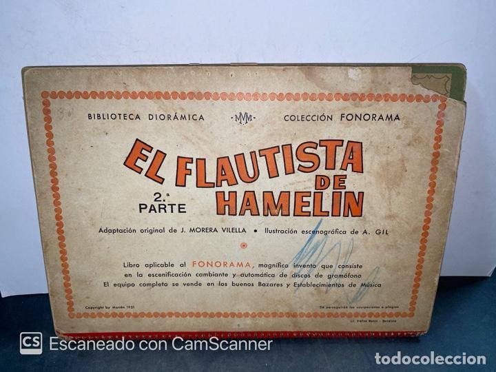 Libros de segunda mano: EL FLAUTISTA DE HAMELIN. ADAPTACION DE J. MORERA VIELLA. 2ª APRTE. BIBLIOTECA DIORAMICA. AÑO 1951. - Foto 8 - 213139943